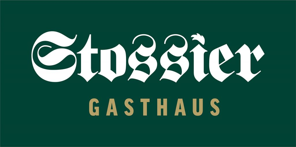 Gasthaus Stossier in Klagenfurt / Wölfnitz - Logo klassisch breit